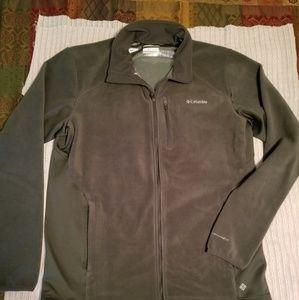 Columbia omni heat full zip fleece jacket